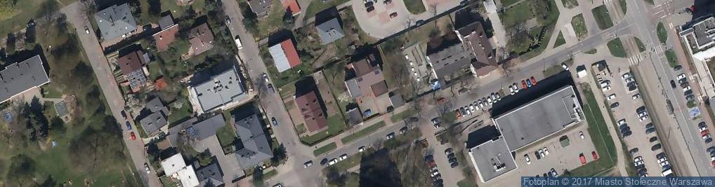 Zdjęcie satelitarne Poborzańska ul.