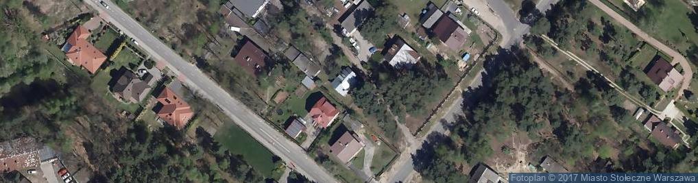 Zdjęcie satelitarne Podkowy ul.