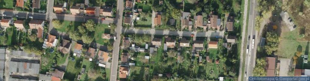 Zdjęcie satelitarne Poranna ul.