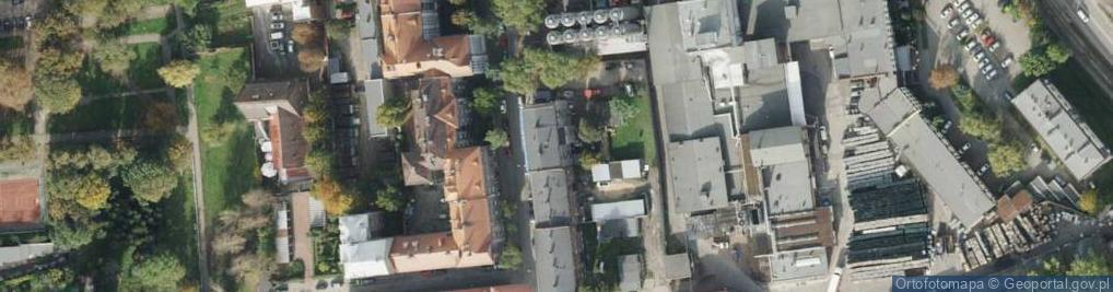 Zdjęcie satelitarne Pośpiecha Pawła, ks. ul.