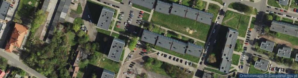 Zdjęcie satelitarne Pordzika Ambrożego ul.