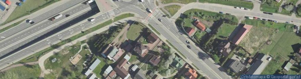 Zdjęcie satelitarne Produkcyjna ul.