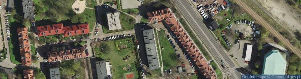 Zdjęcie satelitarne Prokopa Wilhelma ul.