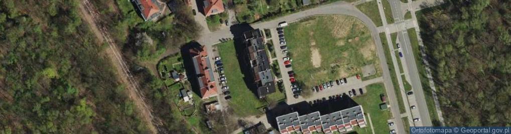 Zdjęcie satelitarne Przy Kopalni Bytom ul.