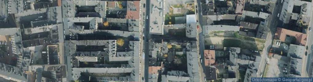 Zdjęcie satelitarne Przesmyk ul.