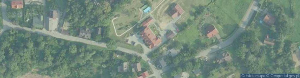 Zdjęcie satelitarne Przedbronie ul.