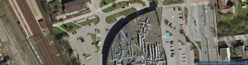 Zdjęcie satelitarne Przebendowskich ul.