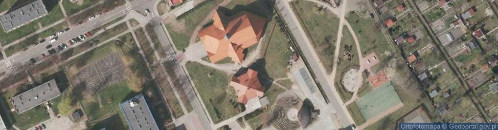 Zdjęcie satelitarne Przedwiośnie ul.