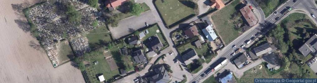Zdjęcie satelitarne Pronobisa Jana, ks. ul.
