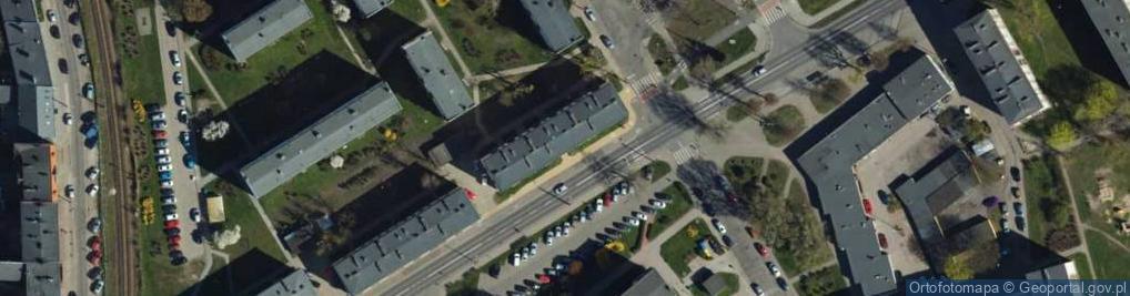 Zdjęcie satelitarne Pruszyńskiego Stanisława, gen. ul.