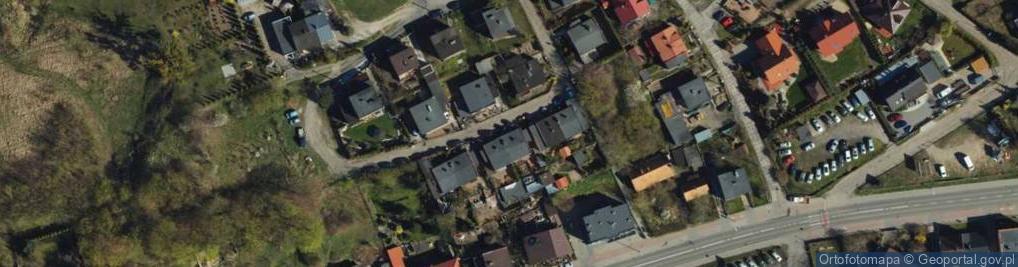Zdjęcie satelitarne Przednia ul.