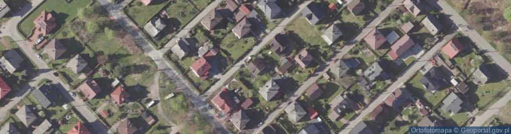 Zdjęcie satelitarne Proksy Romana ul.