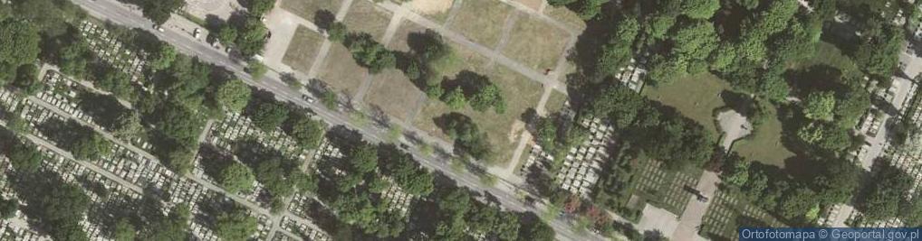 Zdjęcie satelitarne Prandoty ul.