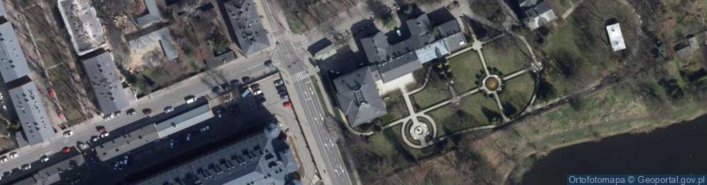 Zdjęcie satelitarne Przędzalniana ul.