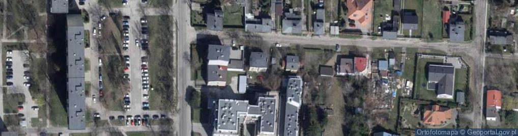 Zdjęcie satelitarne Przelotna ul.