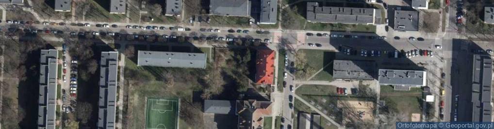 Zdjęcie satelitarne Przyszkole ul.