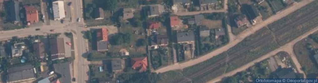 Zdjęcie satelitarne Przy Torze ul.