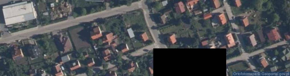 Zdjęcie satelitarne Przybyszewskiego ul.