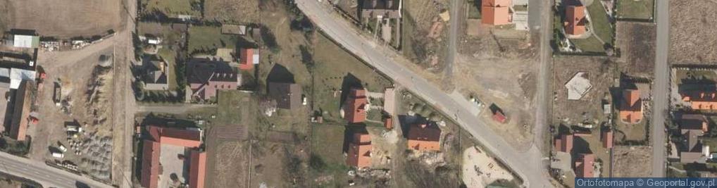 Zdjęcie satelitarne Przemkowska ul.