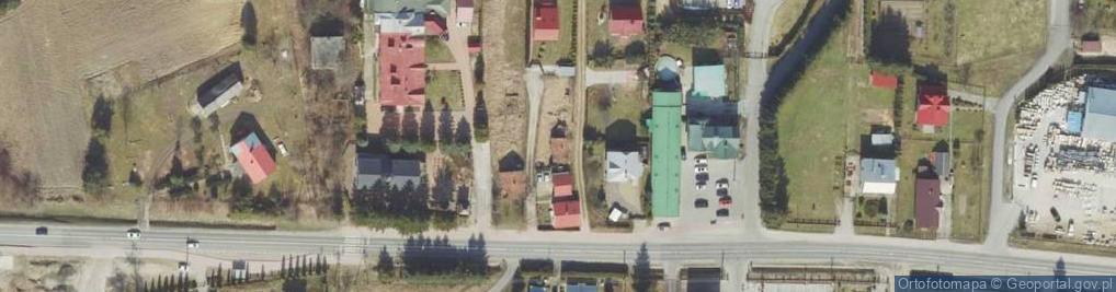 Zdjęcie satelitarne Prałkowce ul.