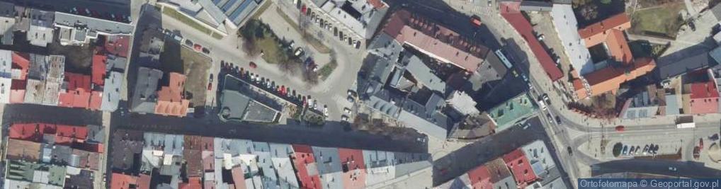 Zdjęcie satelitarne Przecznica Wałowa ul.