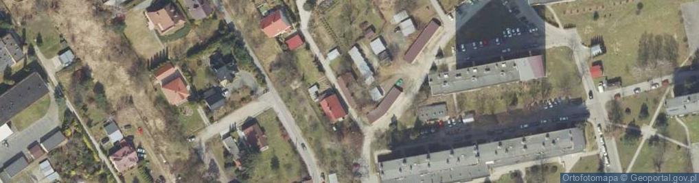 Zdjęcie satelitarne Przybyszewskiego Stanisława ul.