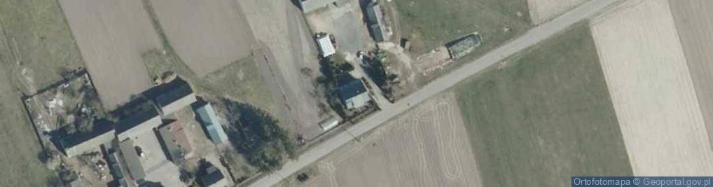 Zdjęcie satelitarne Przestrzele ul.