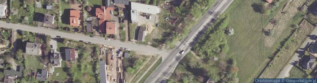Zdjęcie satelitarne Przerwy-Tetmajera Kazimierza ul.