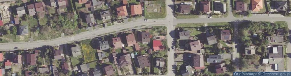 Zdjęcie satelitarne Przysuska ul.