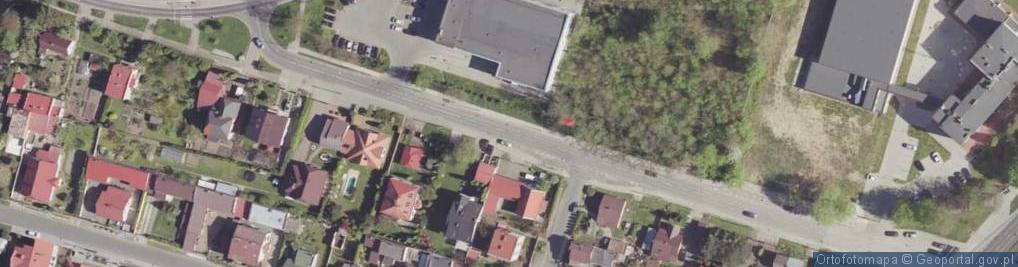 Zdjęcie satelitarne Przytycka ul.