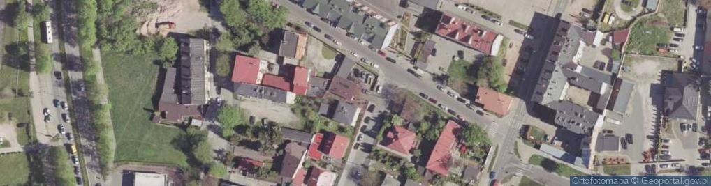 Zdjęcie satelitarne Przyborowskiego Walerego ul.