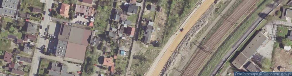 Zdjęcie satelitarne Przepustowa ul.