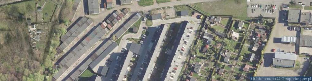 Zdjęcie satelitarne Przyjazna ul.