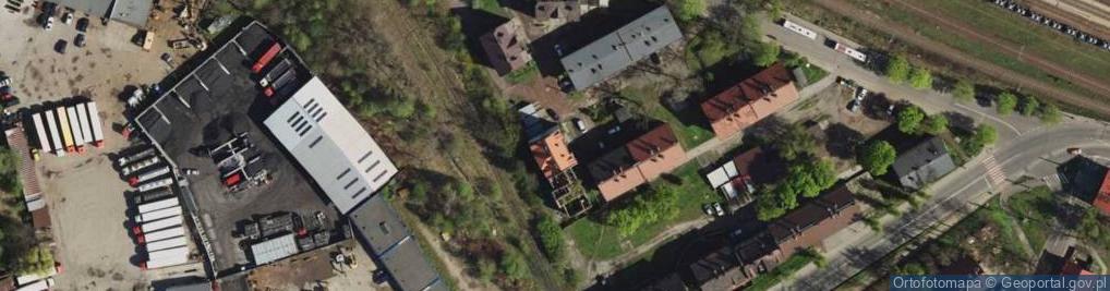 Zdjęcie satelitarne Przedtorze ul.