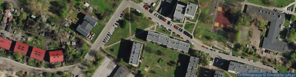 Zdjęcie satelitarne Przedszkolna ul.