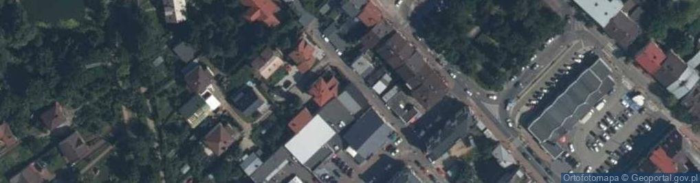 Zdjęcie satelitarne Próżna ul.
