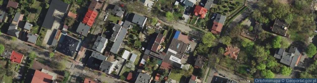 Zdjęcie satelitarne Promyka Kazimierza ul.