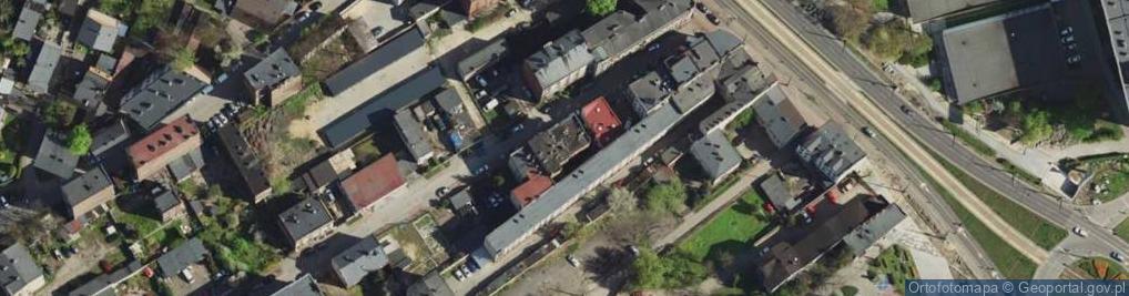 Zdjęcie satelitarne Prosta ul.