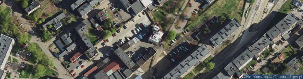 Zdjęcie satelitarne Przejazd ul.