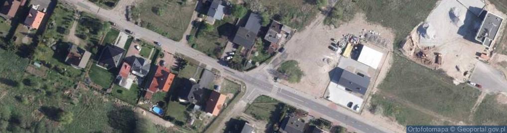 Zdjęcie satelitarne Przelot ul.