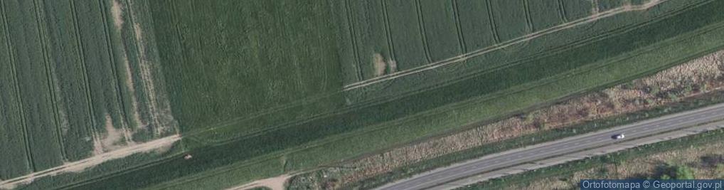 Zdjęcie satelitarne Przy Grobli ul.