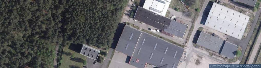 Zdjęcie satelitarne Przy Lesie ul.