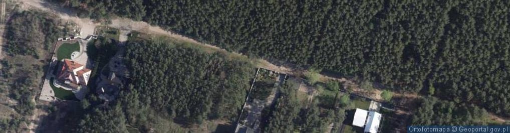 Zdjęcie satelitarne Przy Skarpie ul.