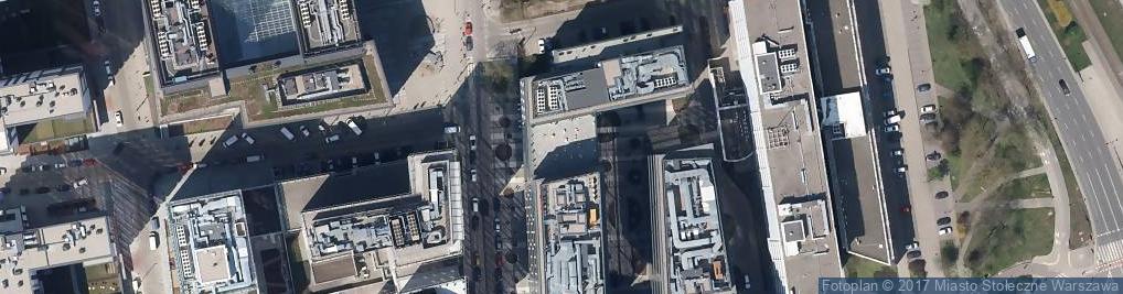 Zdjęcie satelitarne Przyokopowa ul.