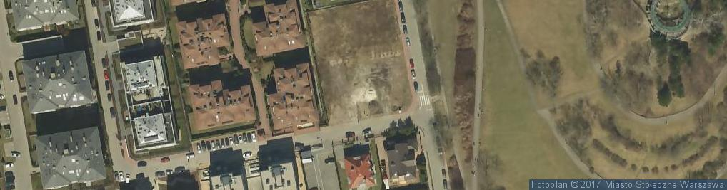 Zdjęcie satelitarne Przy Parku ul.