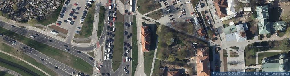 Zdjęcie satelitarne Przyczółkowa ul.