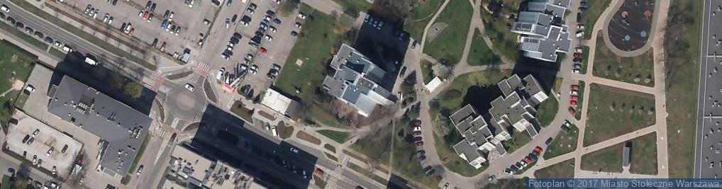 Zdjęcie satelitarne Prałatowska ul.