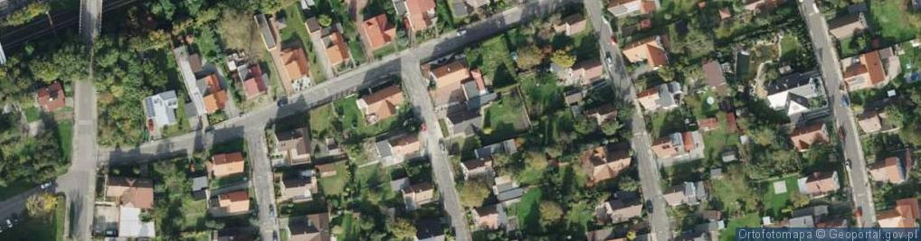 Zdjęcie satelitarne Prudnicka ul.