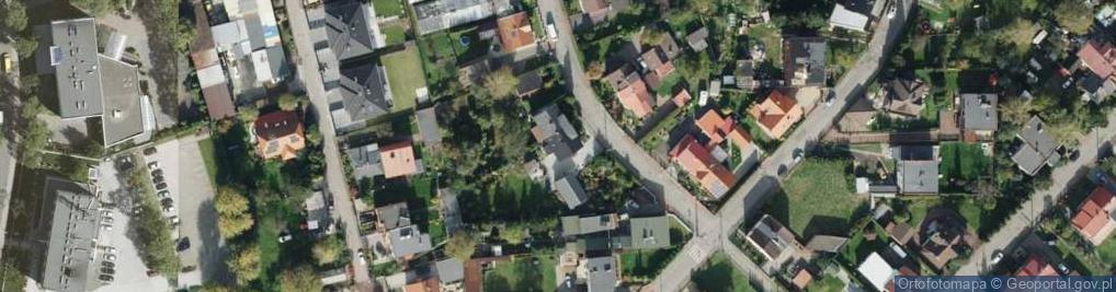 Zdjęcie satelitarne Przyszowicka ul.