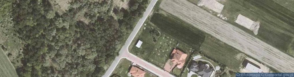 Zdjęcie satelitarne Przy Ujęciu ul.